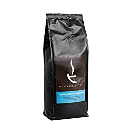 Spiller & Tait Sparkling Water Decaffeinated Coffee Beans 1kg Bag – Fairtrade and Fresh Roasted – Suitable for All Coffee Machines