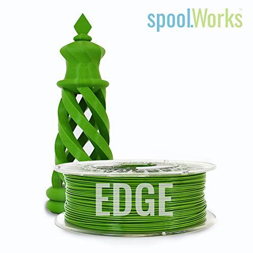 E3D spoolWorks Edge Filament (3mm, Cricket Green) Blue Cricket