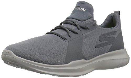 Skechers Go Run-Mojo, Chaussures de Running Homme Gris (Charcoal)