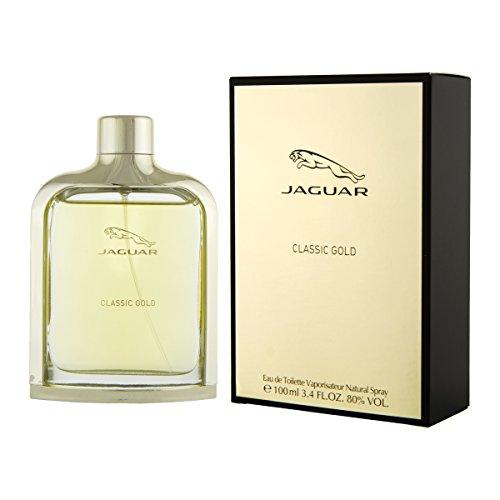 Jaguar Classic Gold Eau de Toilette 100 ml Eau de Toilette für Männer, holzig-aromatisch -