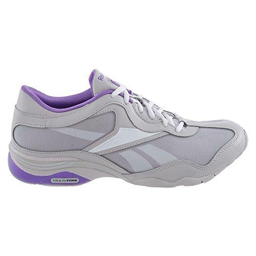 Femme Salty Gris Grey Reebok Training Maj TrainTone Wht Chaussures Fit Purple qwxnTxEa7S