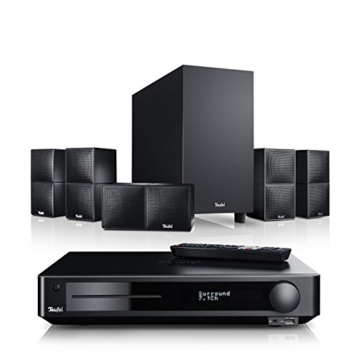 Teufel Cubycon Impaq Easy Schwarz Heimkino Lautsprecher 5.1 Soundanlage Kino Raumklang Surround Subwoofer Movie High-End HiFi Speaker