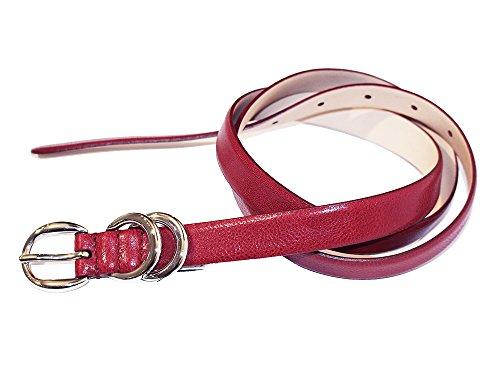 D&G Damen Gürtel Rot rot 100 cm