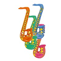 70cm Fun Inflatable Blow Up Rock&Roll Saxophone Disco Holiday Party Music Toy
