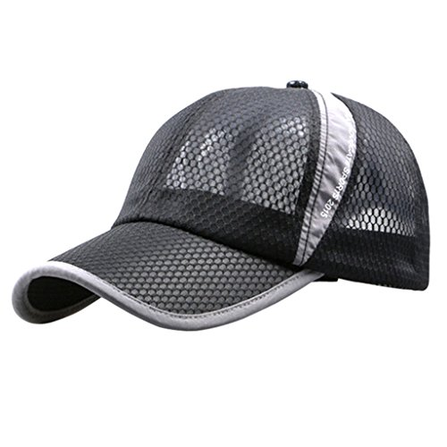 G7Explorer Mesh Speed Drying Breathable Running Cap Only 2.3 Ounces (Dim Gray)