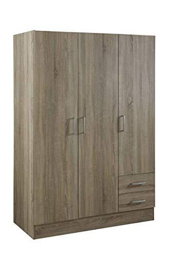Composad armadio 3 ante e 2 cassetti rovere sonoma