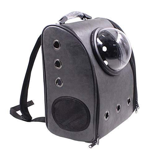 Black Banba Cats Hunde PET Rucksack, Tragbare Welpenträger Reisetasche Sicherheitsraum Kapsel Atmungsaktive Outdoor-Wasserdichte Rucksäcke (Multicolor),G