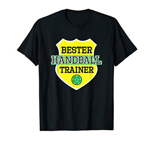 Bester Handball Trainer Coach Handballer Verein Geschenk T-Shirt