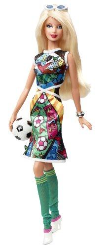 "Preisvergleich Produktbild Original Barbie Collectors Edition Puppe "" Romero Britto """