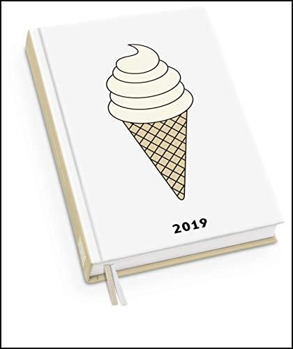 Taschenkalender EIS 2019 - redfries - Terminplaner mit Wochenkalendarium