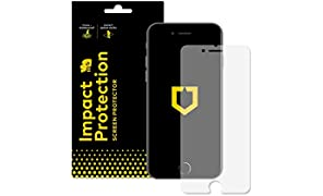 RhinoShield Screen Protector FOR IPHONE 8 PLUS/IPHONE 7 PLUS [Impact Protection] | Hammer Tested Impact Protection - Clear and Scratch Resistant Screen Protection