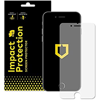 RhinoShield Screen Protector FOR IPHONE 6 / IPHONE 6s [NOT Plus] [Impact Protection] | Hammer Tested Impact Protection - Clear and Scratch Resistant Screen Protection