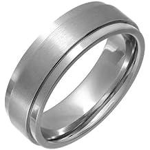 Theia Cobalt Flat Court Matt Centre 7 mm Ring