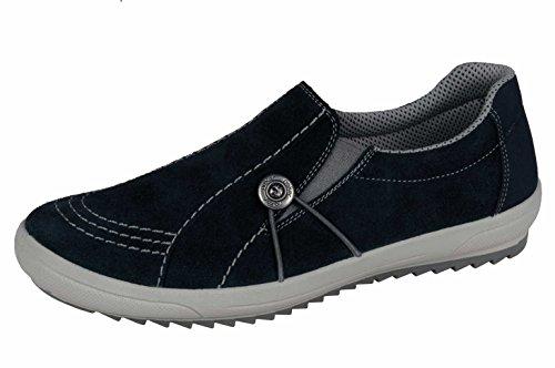 Rieker M6052 Schuhe Damen Slipper, Blau, EU 36 (US 5 1/2, UK 3 1/2)