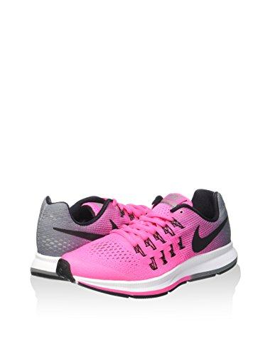 Nike NIKE ZOOM PEGASUS 33 (GS) CHALLENGE RED/BLACK/(M GOLD) PINK BLAST/BLACK-CL