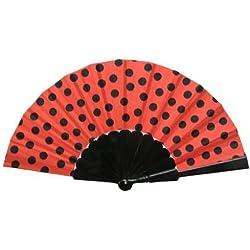 Disfrazjaiak Abanico rojo y negro - Accesorios