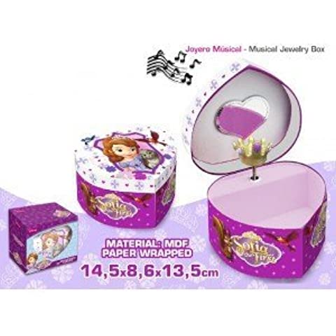 Princess sofia Heart Musical Jewelry Box by Disney