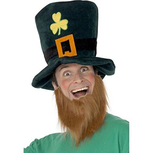 Amakando Kobold Kostüm Set Zwergen Hut und Bart -