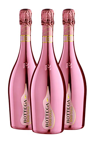 Bottega rose gold - 3 bottiglie da 750 ml