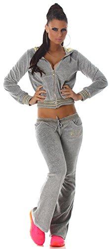 Jela london jogger pantalon & veste avec capuche Gris - Gris clair