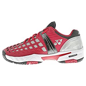 Yonex - Chaussures SHT PRO CLAY 2015 Rouge Taille - 40
