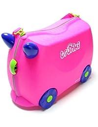 Trunki 10103 - Maleta infantil con ruedas, color rosa