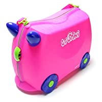 Trunki Pink Ride On Suitcase-Trixie - 0061
