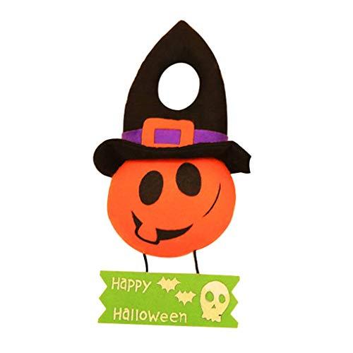 (Meisijia Halloween Festival Dekorative Tür Puppe Aufhänger Anhänger für Hotel KTV Shooping Mall-Kostüm-Party)