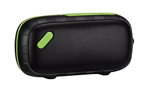[DalTech] External SD Card IPX6 Waterproof Portable Wireless Bluetooth Speaker with Enhanced Bass, Water Resistant, Perfect Speaker for Beach, Shower, Echo Dot & Home (Green)