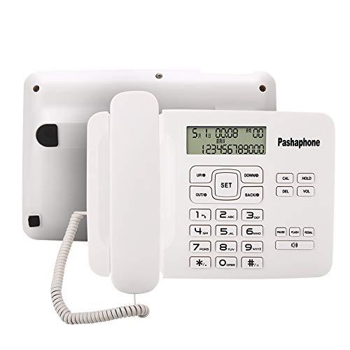 Oumij Teléfono Cable Sistema Dual FSK/DTMF, teléfono
