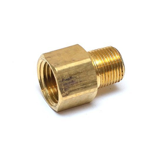FasParts 1/2 Female NPT FPT FIP to 3/8 Male MPT MIP Brass Pipe Adaptor Fitting Fuel / Air / Water / Boat / Gas / Oil WOG by FASPARTS
