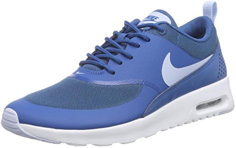Nike Air Max Thea, Damen Sneakers, Blau (Brigade Blue/Porpoise-White 410), 42