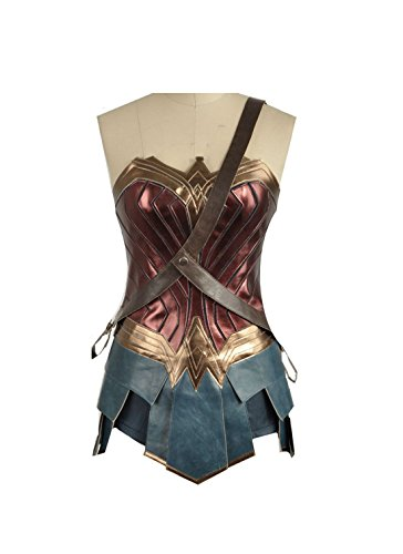 Superman Wonder Woman Top Rock Outfit Halloween Cosplay Kostüm (Pet Kostüm Für Wonder Woman)