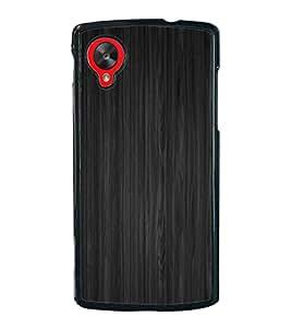 Grey Lines Pattern 2D Hard Polycarbonate Designer Back Case Cover for LG Nexus 5 :: LG Google Nexus 5