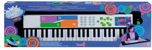 Simba elektrisches I-Keyboard mit MP3-Anschluss