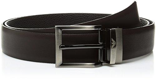 Armani Jeans 931507CC884, Cintura Uomo, Rot (Marrone 00152), 125 cm