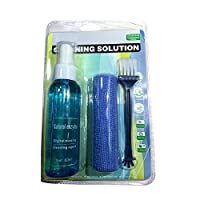 Prom-note Screen Cleaner 60ml with Fine Microfiber Towel+ABS cleaning brush for LCD, LED, TFT, HD TV