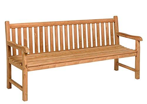 Gartenmöbel Gartenbank CORDOBA Teak 4 - Sitzer (180 cm)