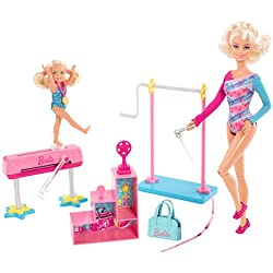 Barbie monitora de gimnasia