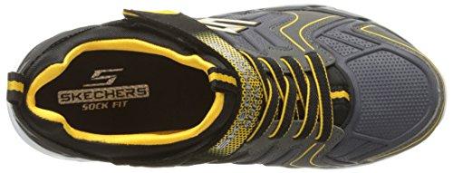 Skechers Gunray Formateurs De Garçons D'air Protium Black/yellow