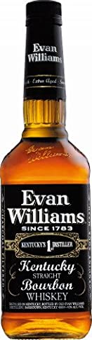 Evan Williams Black Kentucky Straight Bourbon Whiskey 43% 0,7l