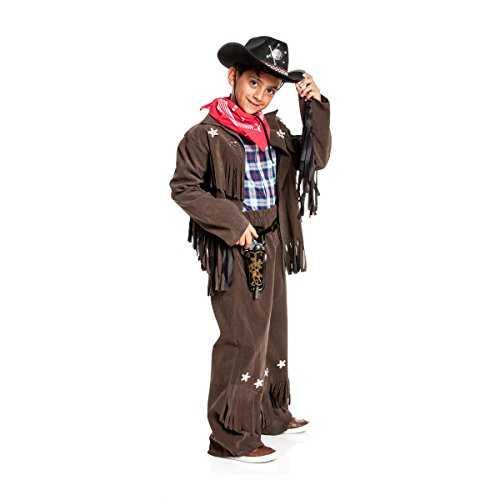 Kostümplanet Cowboy Kostüm Kinder-Kostüm Jungs Cowboykostüm Wilder Westen Faschingskostüm Größe 164