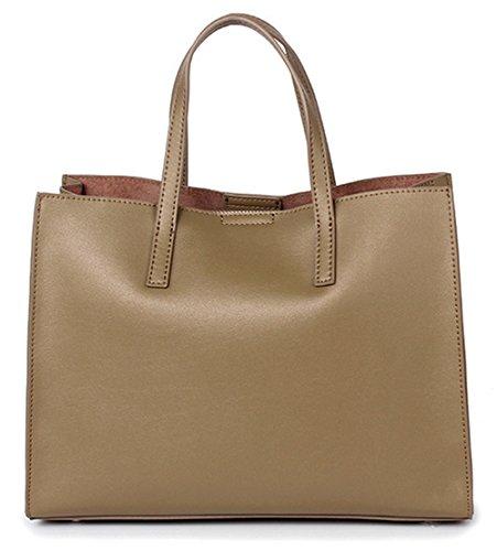 Xinmaoyuan Borse donna borsette in cuoio borsetta Leisure Tote grande