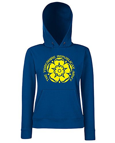 T-Shirtshock - Sweats a capuche Femme WC1107 yorkshire-republican-army-tshirt design Bleu Navy