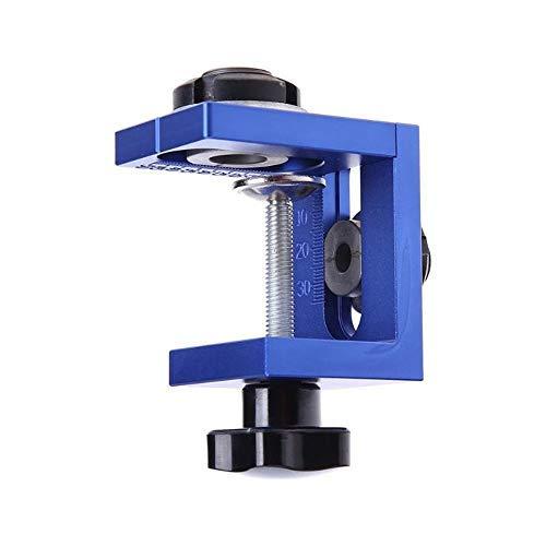AIBER Woodworking Drilling Locator Tool Kit Aluminum Alloy Pocket Hole Jig Kit System
