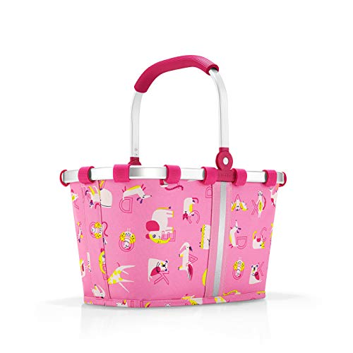 reisenthel carrybag XS kids Einkaufskorb 33,5 x 18 x 19,5 cm / 5 l / abc friends pink -