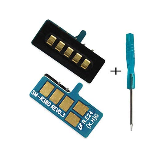 Eagle Charging Charger Connector Replacement for Samsung Galaxy Gear 2 SM-R380 Neo SM-R381 and Screwdriver