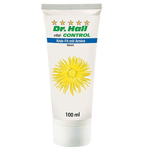 Dr. Hall vital-CONTROL Knie-Fit mit Arnica - Creme für Ihre Knie - mit Arnica, Ackerminze und Kampfer - 1x Knie-Fit mit Arnica Creme -...