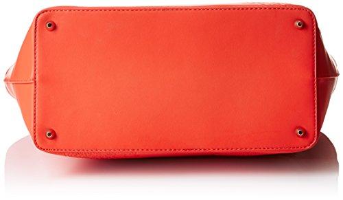 Desigual Damen San Francisco Blick Schultertaschen, 33x29x16 cm Rot (FIESTA 3148)