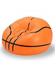 Forfar bola inflable Kit de flotación linda Fútbol baloncesto Forma de fútbol El agua de la piscina inflado Sofá La bals